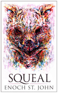 SQUEAL Book cover (with border)